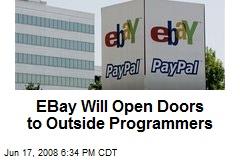 EBay Will Open Doors to Outside Programmers