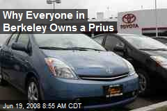 Why Everyone in Berkeley Owns a Prius