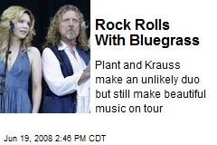 Rock Rolls With Bluegrass