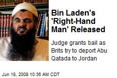 Bin Laden's 'Right-Hand Man' Released
