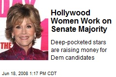 Hollywood Women Work on Senate Majority
