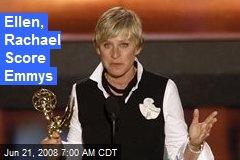 Ellen, Rachael Score Emmys
