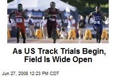 As US Track Trials Begin, Field Is Wide Open