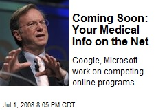 Coming Soon: Your Medical Info on the Net