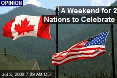 A Weekend for 2 Nations to Celebrate