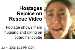 Hostages Rejoice on Rescue Video