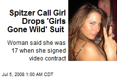 Spitzer Call Girl Drops 'Girls Gone Wild' Suit