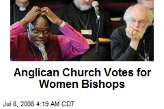 Anglican Church Votes for Women Bishops