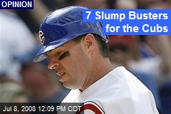 7 Slump Busters for the Cubs