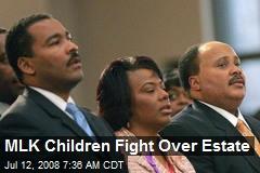 MLK Children Fight Over Estate
