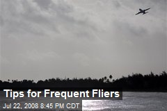 Tips for Frequent Fliers