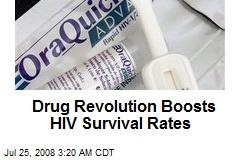 Drug Revolution Boosts HIV Survival Rates