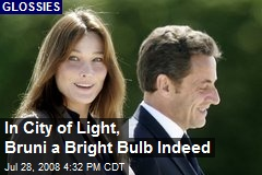 In City of Light, Bruni a Bright Bulb Indeed