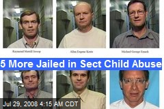 5 More Jailed in Sect Child Abuse