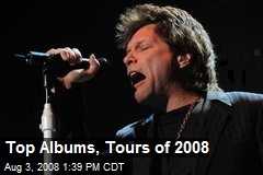 Top Albums, Tours of 2008