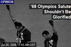 '68 Olympics Salute Shouldn't Be Glorified