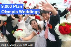 9,000 Plan Olympic Weddings