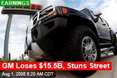 GM Loses $15.5B, Stuns Street