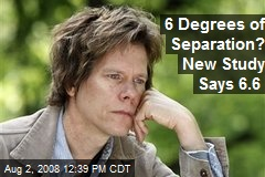 6 Degrees of Separation? New Study Says 6.6