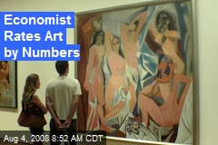 Economist Rates Art by Numbers