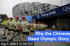 Why the Chinese Need Olympic Glory