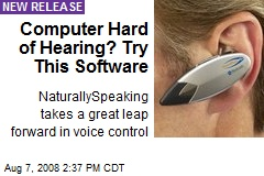 Computer Hard of Hearing? Try This Software