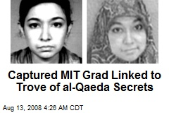 Captured MIT Grad Linked to Trove of al-Qaeda Secrets