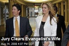 Jury Clears Evangelist's Wife