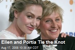 Ellen and Portia Tie the Knot