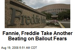 Fannie, Freddie Take Another Beating on Bailout Fears