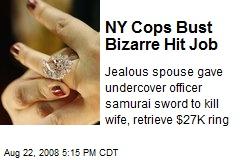 NY Cops Bust Bizarre Hit Job