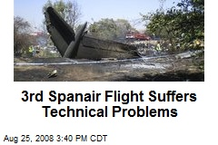 3rd Spanair Flight Suffers Technical Problems