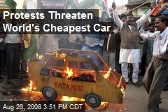Protests Threaten World's Cheapest Car