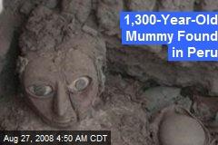 1,300-Year-Old Mummy Found in Peru