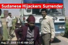 Sudanese Hijackers Surrender