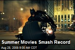 Summer Movies Smash Record