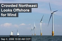 Crowded Northeast Looks Offshore for Wind