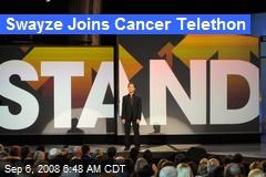 Swayze Joins Cancer Telethon