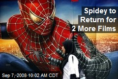Spidey to Return for 2 More Films