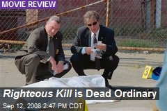 Righteous Kill is Dead Ordinary