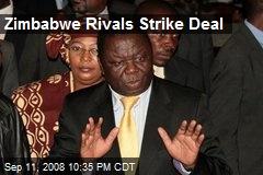 Zimbabwe Rivals Strike Deal