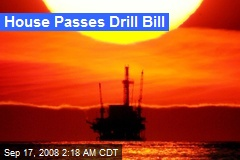 House Passes Drill Bill