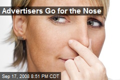 Advertisers Go for the Nose