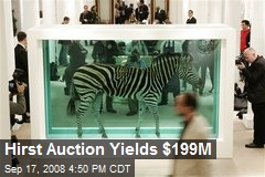 Hirst Auction Yields $199M