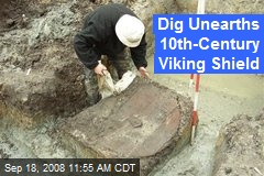 Dig Unearths 10th-Century Viking Shield