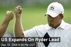 US Expands On Ryder Lead
