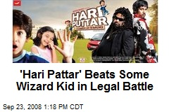 'Hari Pattar' Beats Some Wizard Kid in Legal Battle