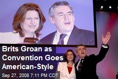 Brits Groan as Convention Goes American-Style