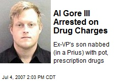 Al Gore III Arrested on Drug Charges