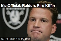 It's Official: Raiders Fire Kiffin